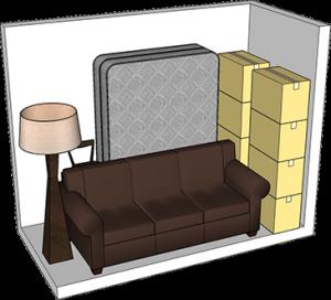 5x10 storage